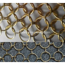 Rantaian Hiasan Renda Wire Ring Mesh