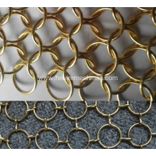 Decorative Chain Mail Wire Ring Mesh