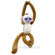 Kundengebundener Entwurf Plüsch hängender Affe