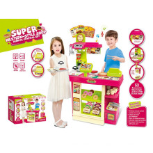 Super-estilo ocidental loja de cozinha brinquedos-play set com alta qualidade
