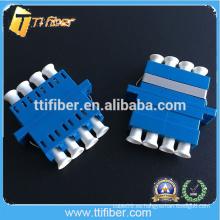 Adaptador óptico de la fibra del LC del color del color azul
