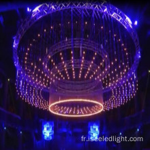Nightclub plafond rgb couleur dmx 3d tube