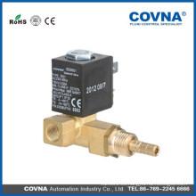 COVNA de actuación directa de 2 o 3 vías pequeña electrodomésticos electroválvula de latón