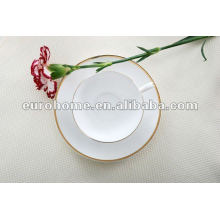 gold & white fine bone china tea coffee sets -eurohome gold