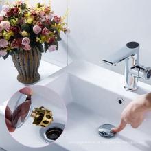 Rolha pop-up da bacia do banheiro polido