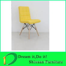 2017 hot sell colorful leather dining room chair