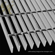 Hot dipped galvanized  steel grating prices steel grating walkway / platform grating steps for Type Online Free