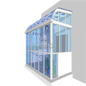 Modular Sunroom Glass House Fire sæson solrum