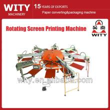 Rotating Screen Printing Machine