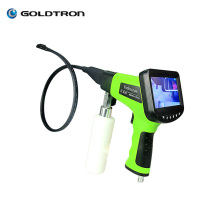 GOLDTRON Car coil cleaner for air conditioner evaporator cleaning ac borescope with machine QS600
