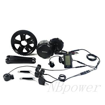 BBSHD 8FUN bafang 48v1000w BBS02 Mid Drive Motor Conversion Bafang Ebike Kit with optional Li ion Battery