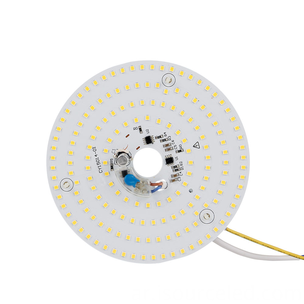 Warm white 15W ceiling light dimming module front