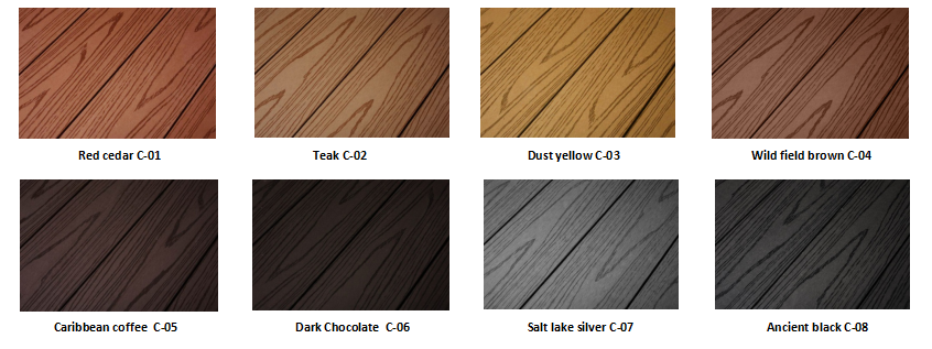 Outdoor decking tiles