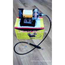 75mm 3in 150w Power Jewelry Mini Bench Grinder Machine Flexible Shaft Grinder Electric Hobby Modeling Tools
