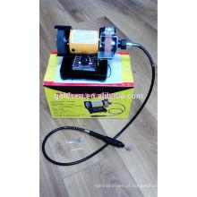 75mm 3in 150w Poder Jóias Mini Bench Grinder Machine Flexível Shaft Grinder Passatempo elétrico Modelagem Ferramentas