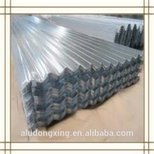 3003 hoja de aluminio corrugado