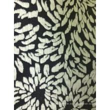 Ropa flor T / R Jacquard Camisa Tela