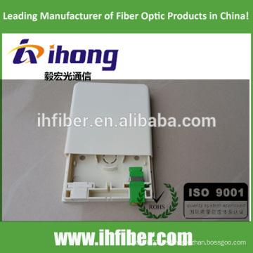 Placa óptica FTTH 86 / panel de enchufe óptico-nuevo diseño G tipo