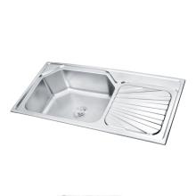 Stainless Steel RV Hand Wash and Vegetable Wash Basin Corner Kitchen Sink