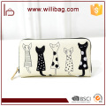 Cute Printing Wallet For Girls New Fashion Ladies Hand Purse