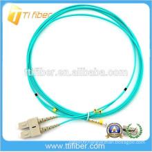 SC/LC Duplex OM3 Fiber Jumper 2.0MM LSZH