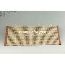 Estera de bambú cruda para la tabla del té