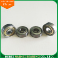 626ZZ 6mmx19mmx6mm Skärmad Radial Deep Groove Ball Bearing