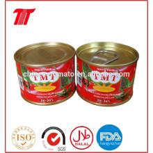 Pasta de tomate de estaño 210 G para Nigeria, Benin, Togo África Occidental