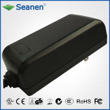 Adaptador de corriente 50watt / 50W con nosotros Pin para dispositivo móvil, decodificador, impresora, ADSL, audio y video o electrodomésticos