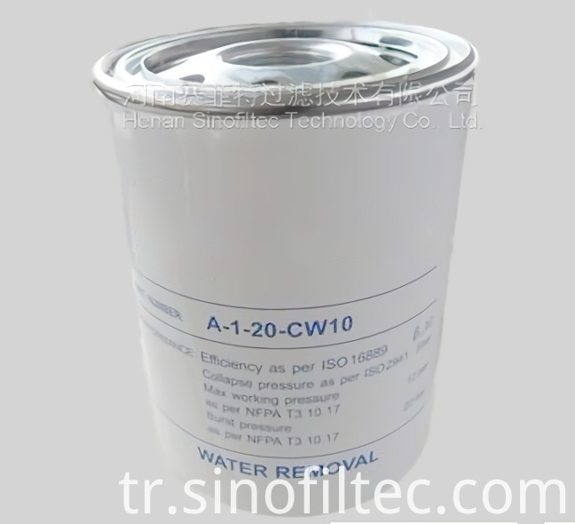 A-1-20-CW10 Hydraulic Filter Element