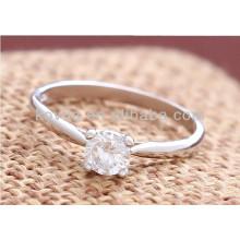 Bague de diamants en diamant en diamant en argent sterling 925
