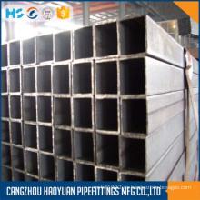 Thinwall Carbon Material Tubo de acero cuadrado
