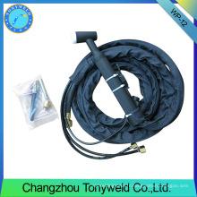 Torche de soudage série wp-12 tig refroidie à l'eau