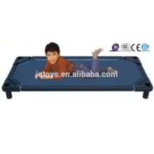2016 детская дешевая пластмассовая складная кровать детского сада для продажи