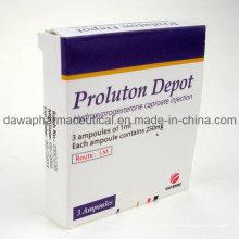 Medicina final para la protección femenina Inyección de caproato de hidroxiprogesterona