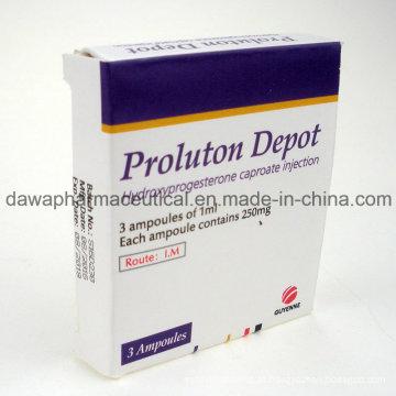 Medicamento finalizado para proteção feminina Injeção de caproato de hidroxiprogesterona