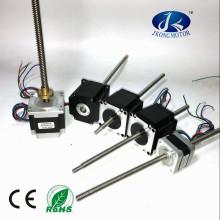 China lead screw nema17 nema 23 step motor customized