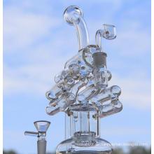 10 Zoll Gitter Recycler Glas Wasser Rohr