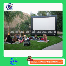 Tela de filme inflável usado, tela de filme inflável para venda, tela de projeção traseira inflável