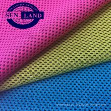 Tela de malha fresca do poliéster 100% para o uniforme do sportswear do verão