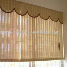 Roll up bamboo blind