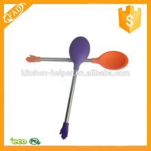 Pequena cozinha Appliance prática colher de silicone