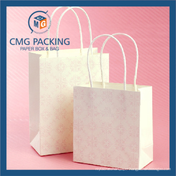 White Matt Lamination Kraft Peper Packing Bag