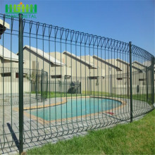 Green Welded Roll Top Fence dengan ISO9001