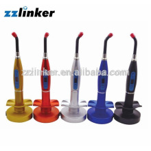 Unité de traitement de la lumière numérique dentaire sans fil colorée