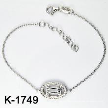 Bracelet en bijoux en argent 925 en vrac de nouveaux styles (K-1749. JPG)