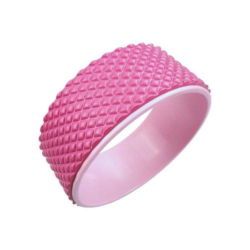 Professional Waist Fitness Equipment Nonslip Yoga Circles Back Massage Yoga Roller Wheel