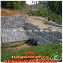 Hot dip galvanized gabion box with high quality