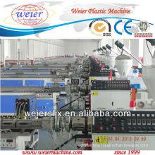 wpc machine wood plastic machine for wpc profiles