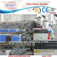 Linha de produção de perfil de plástico de madeira wpc